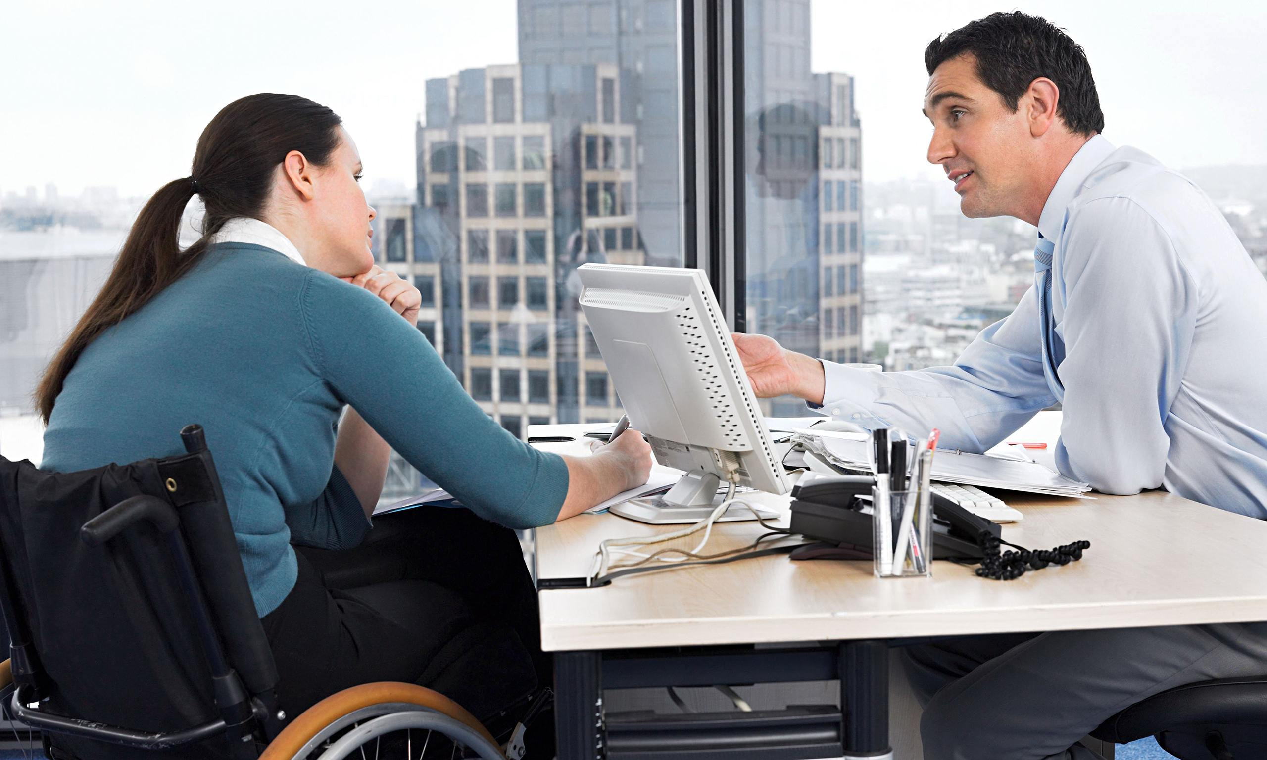 How to equip the workplace for disabled staff
