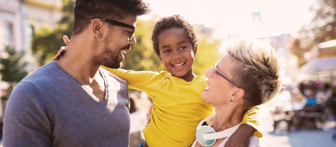 Family mixed race