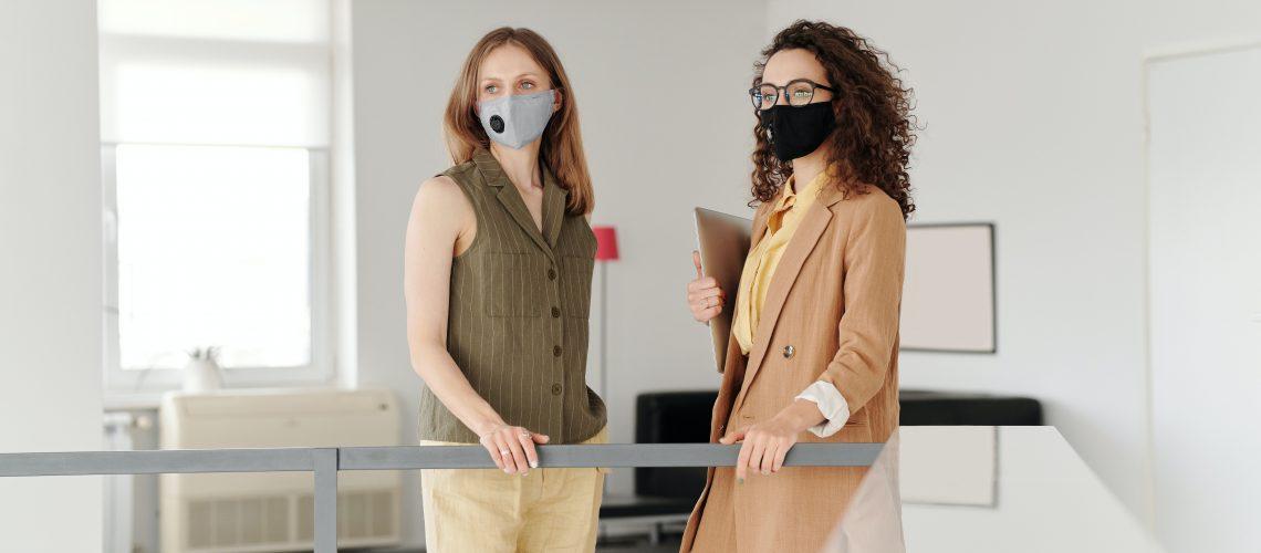 business-women-wearing-face-masks-4347447