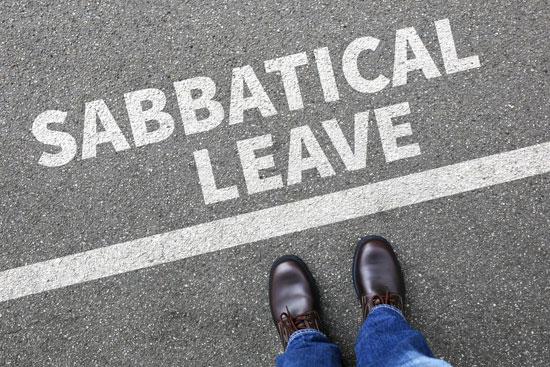 Consider giving sabbatical leave