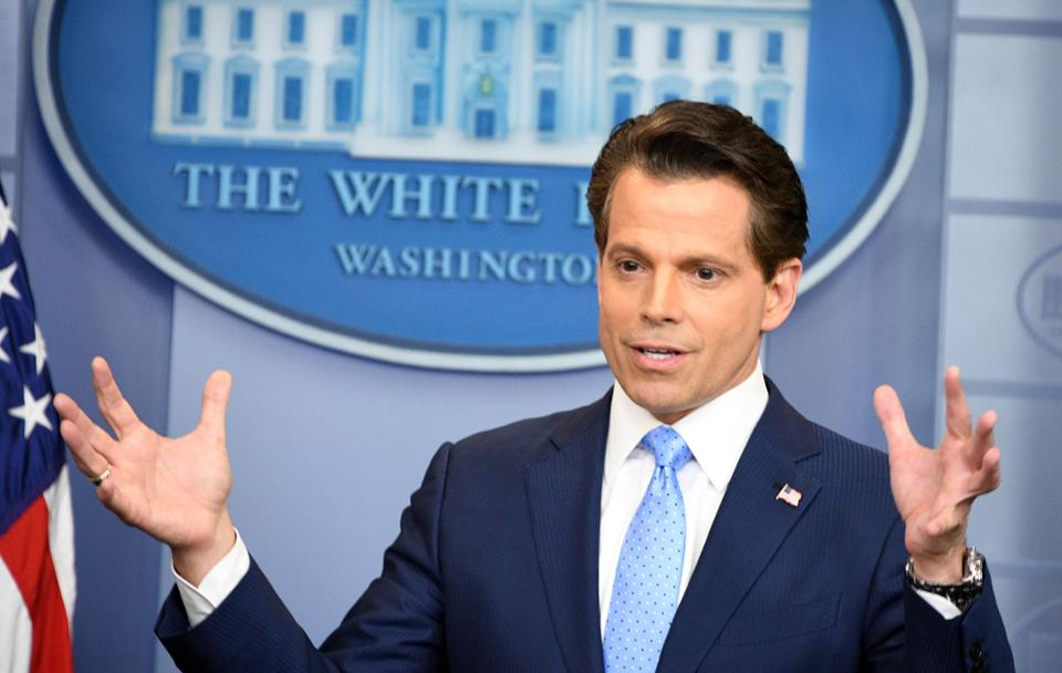 Why did Scaramucci crash and burn in the White House?