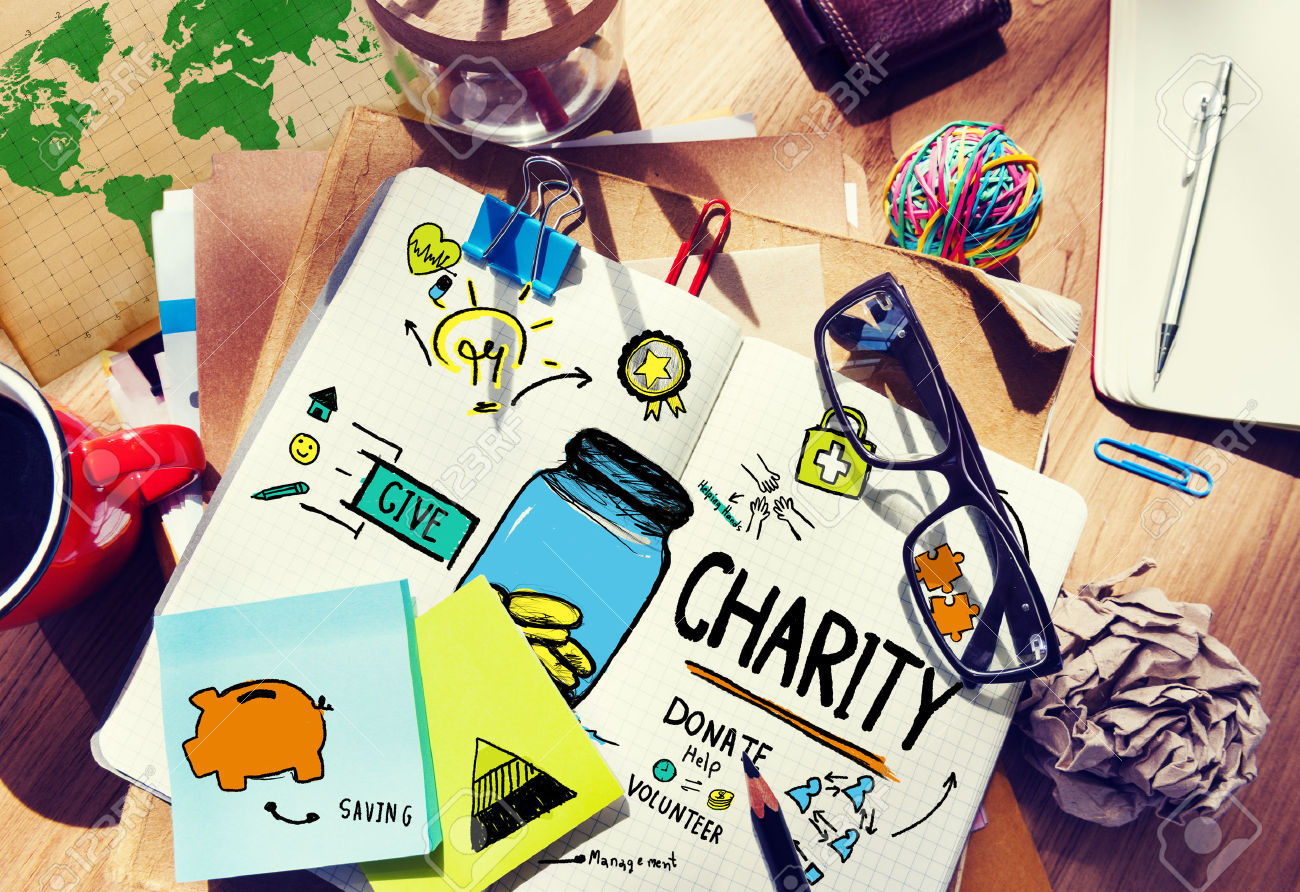 When will charity start at work?
