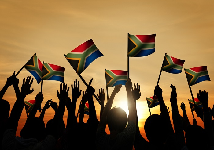 Change of status within South Africa